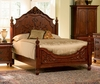 Queen Size Bed - Isabella Queen Size Bed in Oak - Coaster - 200511Q
