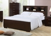 Queen Size Bed - Jessica Queen Size Bed in Light Cappuccino - Coaster - 200719Q