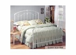 Queen Size Bed - Maddie Metal Bed in White