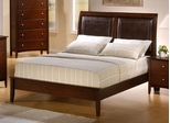 Queen Size Bed - Tamara Queen Size Bed in Walnut - Coaster - 201151Q