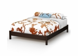 Queen Size Platform Bed - Step One - South Shore Furniture - 3159203