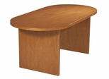 Race Track Conference Table in Cherry - Office Star - CT7236RT7