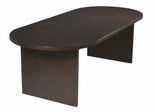 Race Track Conference Table in Mahogany - Office Star - CT9642RT3