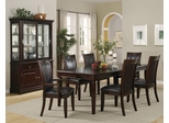 Ramona 9-Piece Dining Room Furniture Set in Walnut - Coaster - 101631-4-DSET