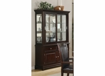 Ramona Buffet with Hutch in Walnut - Coaster - 101634