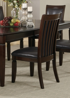 Ramona Side Chair (Set of 2) in Walnut - Coaster - 101632-SET