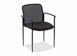 Reception Side Chair - Black - LLR69506