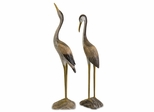 Reeds Wood Cranes- Set of 2 - IMAX - 50894-2