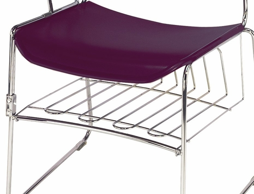 Removable Book Rack - National Public Seating - BR85