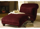 Reststop Chaise Lounge with Lumbar Pillow - Klaussner Furniture - 5000CHASE