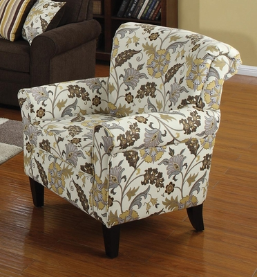 Retro Styled Accent Chair - 902082