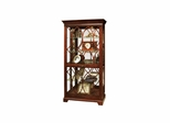 Richland Tuscany Cherry Curio Cabinet - Howard Miller