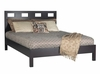Riva Eastern King Size Platform Bed - Nevis Espresso - Modus Furniture - RV23F7