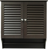 RiverRidge Home Espresso Ellsworth 2 Door Wall Cabinet
