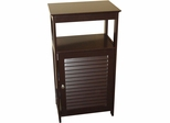 RiverRidge Home Espresso Ellsworth Single Door Floor Cabinet