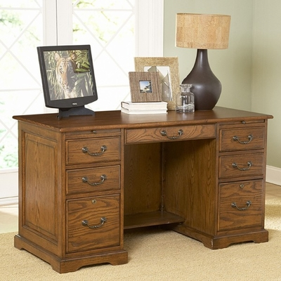 Riverside Seville 54-Inch Flat Top Desk - Riverside Furniture - 8954