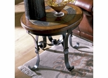 Riverside Stone Forge Round Side Table - Riverside Furniture - 31009