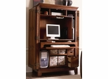Riverside Urban Crossings Cherry Computer Armoire Cabinet - Riverside Furniture - 69085