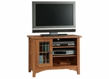 Rose Valley Entertainment Stand Abbey Oak - Sauder Furniture - 406840
