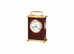 Rosewood Bracket Traditional Table Top Clock - Howard Miller