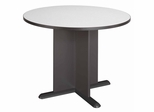 Round Conference Table - Bush Office Furniture - TB84242A