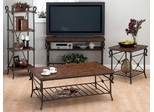 Rutledge Pine 4-Piece Livingroom Table Set - 772-1