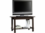 "Sauder Beginnings 37"" TV Stand Cinnamon Cherry"