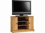 "Sauder Beginnings 47"" Corner TV Stand Highland Oak"