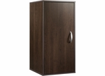 Sauder Beginnings Storage Cube With Door Cinnamon Cherry