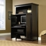Sauder Edge Water Computer Armoire Estate Black