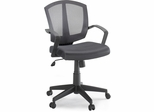 Sauder Mesh Gray Task Chair Pneumatic Gas Height Adjustment