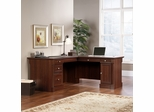 Sauder Palladia L Shaped Desk Select Cherry