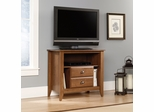 "Sauder Shoal Creek 37"" High Boy TV Stand Oiled Oak"