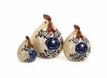 Scandinavian Chickens (Set of 3) - IMAX - 50220-3