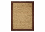 "Seagrass Area Rug in Chocolate - 24"" x 36"" - 11756"