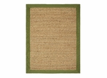Seagrass Area Rug in Sage - 5' x 7' - 11765