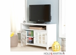 SEI Marston TV/Media Stand - White