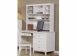 Selena Desk and Hutch with Four Drawers - 400237