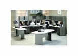 Series A / Advantage in Pewter - Bush Office Furniture
