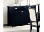 Server in Distressed Black - Coaster
