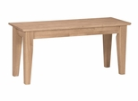 Shaker Style Bench - BE-39