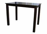 Shaker Styled Counter Height Table in Java - T15-3048GS