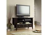 Shoal Creek Panel TV Stand Jamocha Wood - Sauder Furniture - 409795