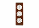 Shore Station Wall Clock in Rosewood Hall - Howard Miller
