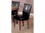 Side Chair (Set of 2) in Black - Coaster