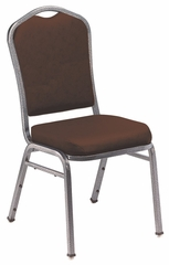 Silhouette Vinyl Padded Stack Chair - National Public Seating - 9300