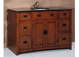 Sink Cabinet in Medium Brown - P5434-03A-3