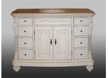 Sink Chest in Antique White - P5512-03A