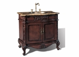 Sink Chest in Dark Brown Cherry - P5405-03A