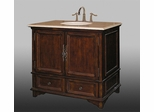 Sink Chest in Dark Brown - W5252-11